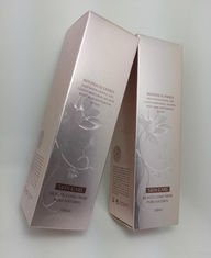Stamped Logos Paper Cosmetic Packaging  , Eco Friendly Cosmetic Packaging