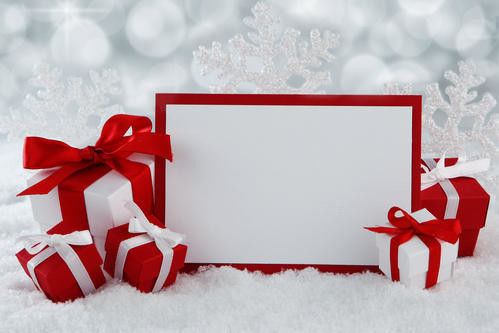 Rectangle Red A6 64 Open Christmas Paper Gift Boxes